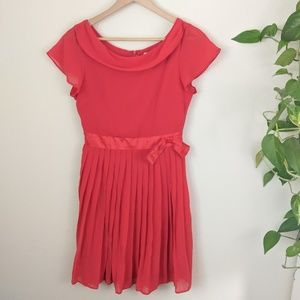 Red Modcloth Dress by Fervour